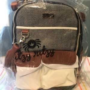Itzy Ritzy Boss diaper bag backpack NWT in wrap